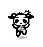 スケルトンパンダのスケパン(個別スタンプ:07)