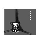 スケルトンパンダのスケパン(個別スタンプ:28)