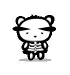 スケルトンパンダのスケパン(個別スタンプ:36)