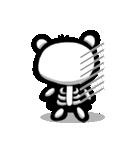 スケルトンパンダのスケパン(個別スタンプ:40)