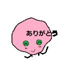 ピンク顔のおとぼけ宇宙バイキン(個別スタンプ:15)
