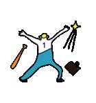 がんばれ!永遠の野球少年(個別スタンプ:04)