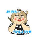 こんにちわ。由紀子です。(個別スタンプ:09)