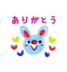 くれよん動物園(個別スタンプ:04)