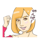 パステル乙女(個別スタンプ:04)