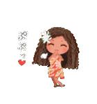 ハワイの休日 CHOU CHOU フラ&タヒチアン(個別スタンプ:22)