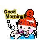 赤毛のくるり(個別スタンプ:01)