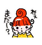 赤毛のくるり(個別スタンプ:10)