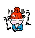 赤毛のくるり(個別スタンプ:14)