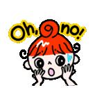 赤毛のくるり(個別スタンプ:15)