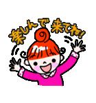 赤毛のくるり(個別スタンプ:24)