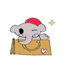 かわいい豚が好きなカバンを持ちお出かけ(個別スタンプ:1)