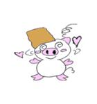 かわいい豚が好きなカバンを持ちお出かけ(個別スタンプ:12)