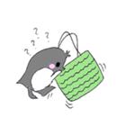 かわいい豚が好きなカバンを持ちお出かけ(個別スタンプ:20)