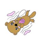 かわいい豚が好きなカバンを持ちお出かけ(個別スタンプ:34)