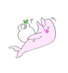 かわいい豚が好きなカバンを持ちお出かけ(個別スタンプ:36)