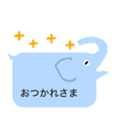 動物ふきだし 1(個別スタンプ:03)