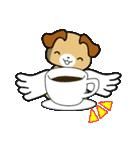 天使の羽を持つ可愛いカップル犬(個別スタンプ:18)