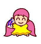 ちっちゃい女の子(文字無し)(個別スタンプ:21)