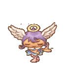 天使たちのつぶやき(個別スタンプ:04)