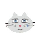 キラキラ目の猫(個別スタンプ:01)