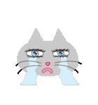 キラキラ目の猫(個別スタンプ:03)