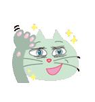 キラキラ目の猫(個別スタンプ:37)