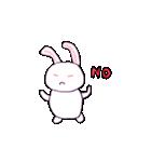 ウサギのウサピョン (日本語版)(個別スタンプ:16)