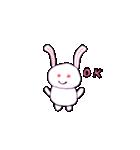 ウサギのウサピョン (日本語版)(個別スタンプ:17)