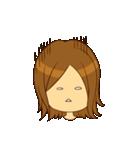 Stupid girl(個別スタンプ:01)