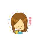 Stupid girl(個別スタンプ:03)