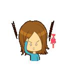 Stupid girl(個別スタンプ:05)