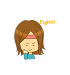 Stupid girl(個別スタンプ:06)