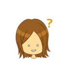 Stupid girl(個別スタンプ:14)