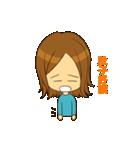 Stupid girl(個別スタンプ:36)