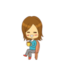 Stupid girl(個別スタンプ:38)