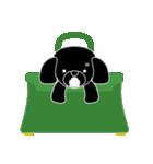 かばんの中のトイプードル(個別スタンプ:09)