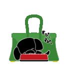 かばんの中のトイプードル(個別スタンプ:18)