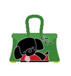 かばんの中のトイプードル(個別スタンプ:19)