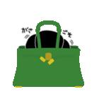 かばんの中のトイプードル(個別スタンプ:27)