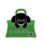 かばんの中のトイプードル(個別スタンプ:39)