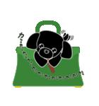かばんの中のトイプードル(個別スタンプ:40)