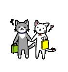 ネコねこカップル物語(個別スタンプ:06)