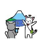 ネコねこカップル物語(個別スタンプ:07)