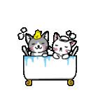 ネコねこカップル物語(個別スタンプ:09)