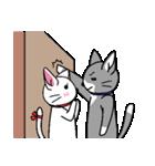 ネコねこカップル物語(個別スタンプ:11)