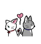 ネコねこカップル物語(個別スタンプ:13)