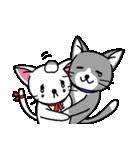 ネコねこカップル物語(個別スタンプ:15)