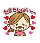 1.九州弁♥博多弁のかわいい女の子(個別スタンプ:03)