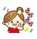 1.九州弁♥博多弁のかわいい女の子(個別スタンプ:07)